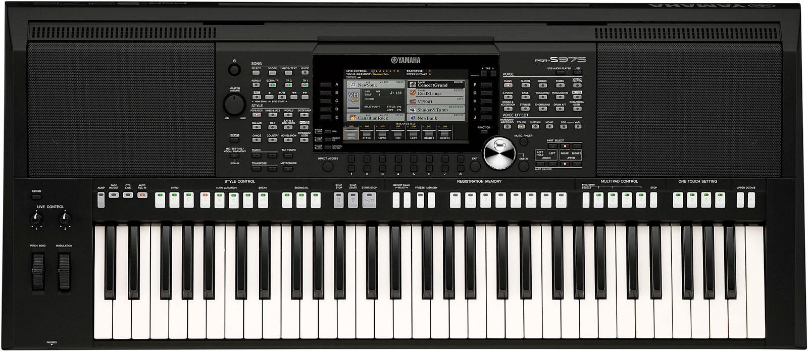yamaha psr s975 keymusic. Black Bedroom Furniture Sets. Home Design Ideas