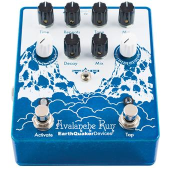 Earthquaker Devices Avalanche Run V2 pédale delay/echo/looper