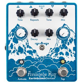 Earthquaker Devices Avalanche Run V2 delay/echo/looper pedal