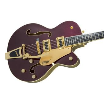 Gretsch G5420TG 135th Anniversary Electromatic Dark Cherry Metallic/Casino Gold semi-acoustic guitar