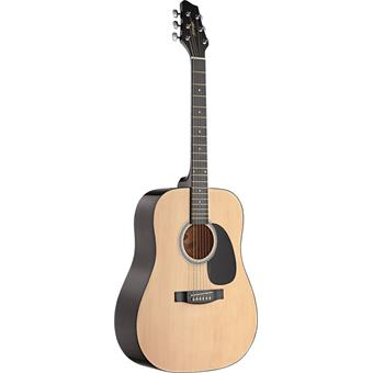 Stagg SW201 Natural guitare dreadnought