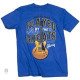 Gibson Played By The Greats T-Shirt (S)