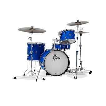 Gretsch Drums CT1-J484 Catalina Club Jazz Blue Satin Flame jazz ketelset