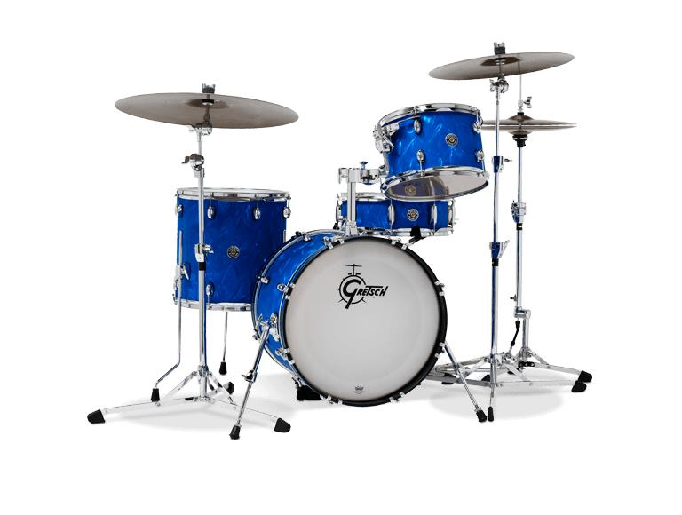 Image of Gretsch Drums CT1-J484 Catalina Club Jazz Blue Satin Flame 0000000000000