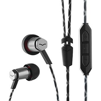 V-Moda Forza Metallo Gun Black Iphone in-ear hoofdtelefoon