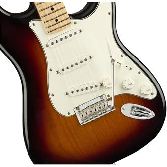 Fender Player Stratocaster MN 3 Tone Sunburst guitare électrique
