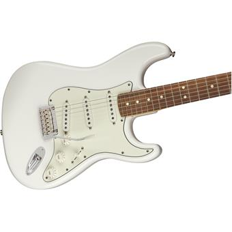 Fender Player Stratocaster PF Polar White guitare électrique