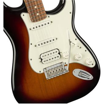 Fender Player Stratocaster HSS PF 3 Tone Sunburst electric guitar