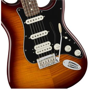 Fender Player Stratocaster HSS Plus Top PF Tobacco Burst electric guitar