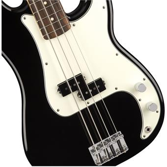Fender Player Precision Bass PF Black 4-snarige basgitaar