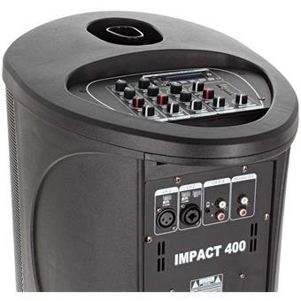 Power Acoustics Impact 400 complete compact PA-set