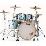 Pearl MCT924XEFP Masters Maple Complete Shellset Ice Blue Oyster