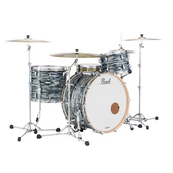 Pearl MRV923XEP/C495 Shell Kit Masters Maple Reserve Classic Black Oyster rock shell kit