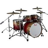 Pearl Masterworks Heritage Shellset Red Fade Over Eucalyptus