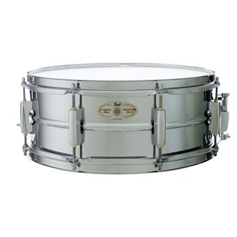 Pearl LMSS1455 Sensitone Limited Chrome steel snare drum