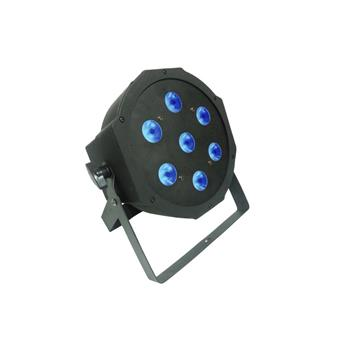 Power Lighting Par Slim 7X9W Quad flood/par light