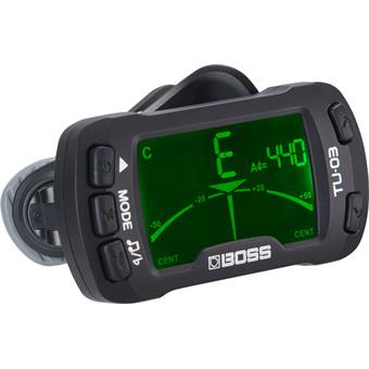 Boss  TU-03  Clip-On Tuner & Metronome  clip-on tuner