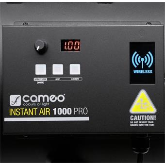 Cameo Instant Air Pro 1000 wind machine rookmachine
