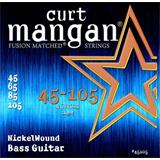 Curt Mangan Electric Bass Nickel Wound 45-105