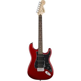 Squier Affinity Series Stratocaster HSS Pack Candy Apple Red elektrische gitaarpakket