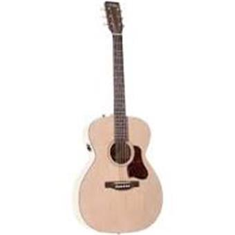 Art & Lutherie Legacy Faded Cream QIT acoustic-electric orchestra guitar