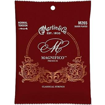 Martin Strings M265 Classical Magnifico Premium Normal Tension Loop End standard nylon guitar string set
