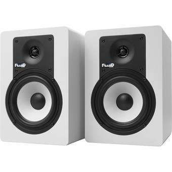Fluid Audio C5BTW White set enceinte de proximité actif