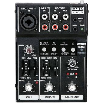 DAP Mini GIG analoge mixer