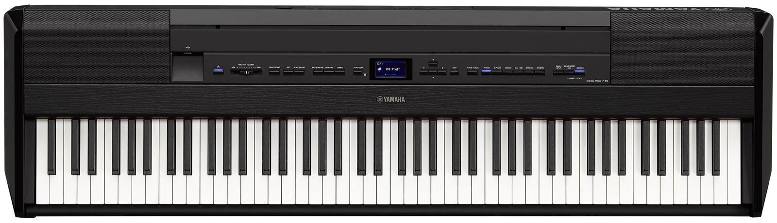 yamaha p 515 black keymusic. Black Bedroom Furniture Sets. Home Design Ideas