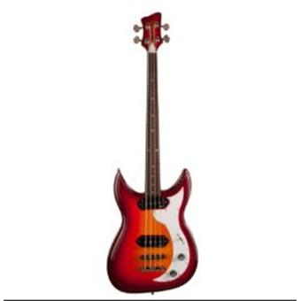 Godin Dorchester Cherry Burst RN 4 string bass guitar