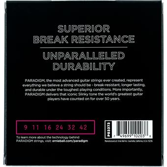 Ernie Ball 3373 Paradigm Super Slinky 9-42 3-Pack 009 electric guitar string set