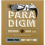 Ernie Ball 3328 Paradigm 80/20 Bronze 11-52 3-Pack