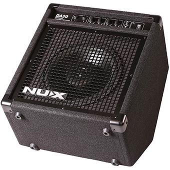 NUX DA30 drum monitoring