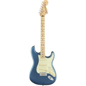 Fender American Performer Stratocaster Satin Lake Placid Blue electric guitars