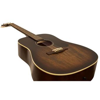 Art & Lutherie Americana Bourbon Burst acoustic-electric cutaway dreadnought guitar