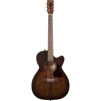 Art & Lutherie Legacy Bourbon Burst CW QIT acoustic-electric orchestra guitar