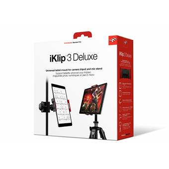 IK Multimedia iKlip 3 Deluxe laptop/iPad stand