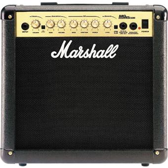 Marshall MG15CDR solidstate guitar combo