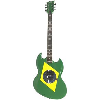 ESP LTD  MC-600 Max Cavalera Brazilian Green electric guitar