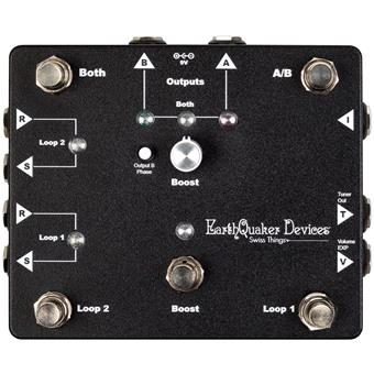 Earthquaker Devices Swiss Things routing/switching pedaal