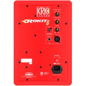 KRK RP 6 G3 Red actieve nearfield monitor