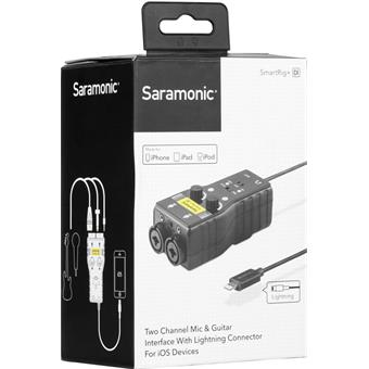 Saramonic SmartRig+Di iOS interface