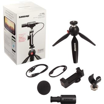 Shure Motiv MV88+ Video Kit USB studio/broadcast microfoon