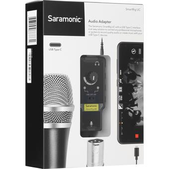 Saramonic SmartRig-UC iOS interface