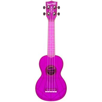 Kala Waterman Soprano Purple ukulele