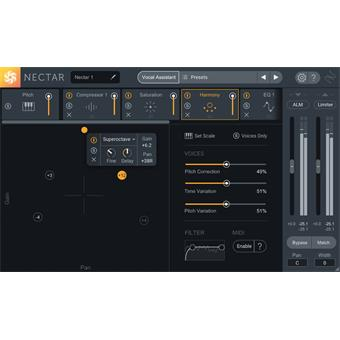 Izotope Nectar 3 audio-/effectplugin