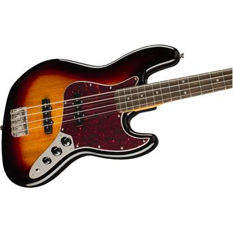Squier Classic Vibe '60s Jazz Bass LRL 3 Color Sunburst 4 string bass guitar