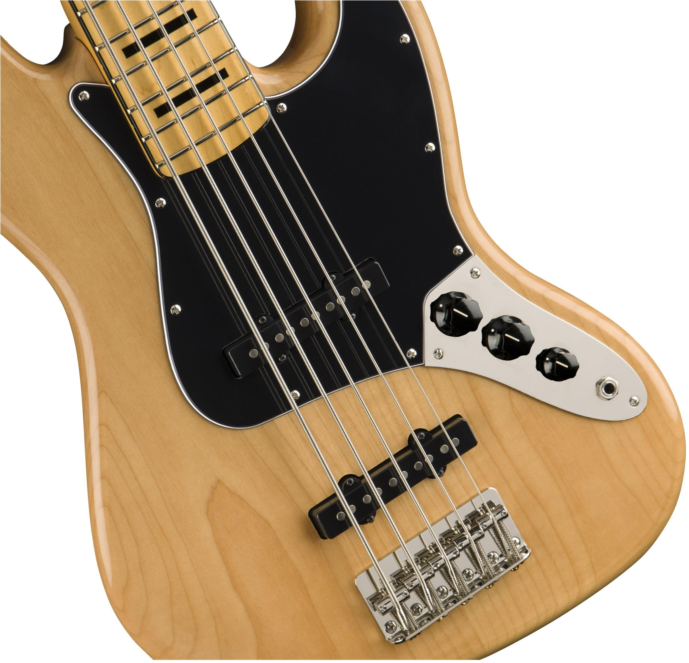 squier classic vibe  u0026 39 70s jazz bass v mn natural