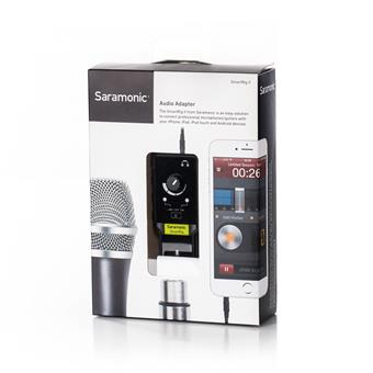 Saramonic SmartRig II iOS interface
