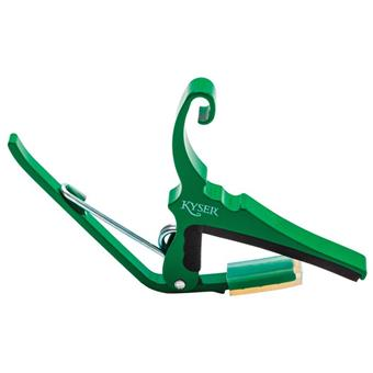 Kyser QUICK-CHANGE® ACOUSTIC - EMERALD GREEN capo for electric and acoustic guitar